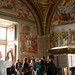 walls and tourists, Salle della Segnatura, Vatican