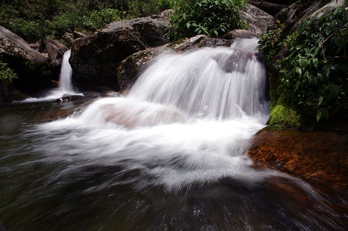 Power in the waterfall - Sikkim - India!