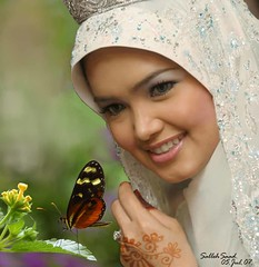 Siti Norhaliza -01 (Pak Leh.) Tags: portrait painting famous rich hijab malaysia