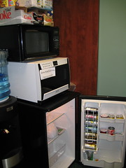 RustyBrick Fridge