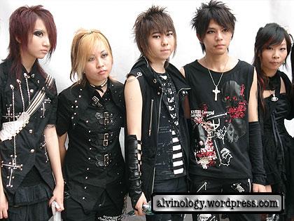Goth gang