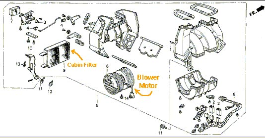 Adc F Bd O on Acura Legend Blower Motor Replacement