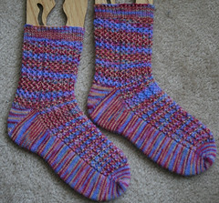 Lacy Rib Socks 072207