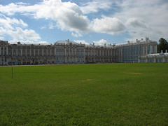 Catherine's Palace, Pushkin (Mervyn S) Tags: tour russia redstar topdeck