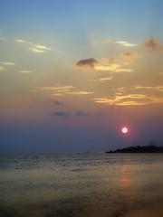 Sunset, Tamsui river, Taipei - by Sunshine Junior