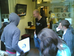 Tempa flashmob @ Radio 1 foyer