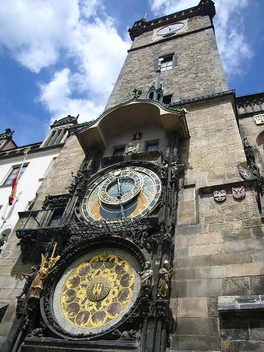 L'horloge astronomique de Prague (Pražský orloj en tchèque)