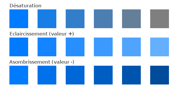 composition monochromatique (Monochromatic)