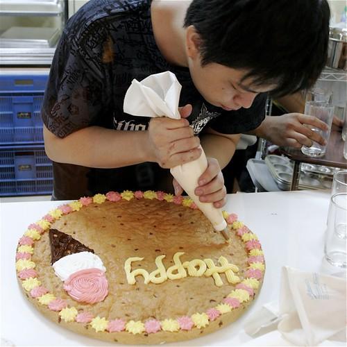 Mrs Fields Cookie Cake Big Rectangle