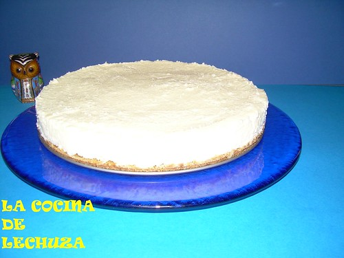 Tarta queso pl.azul