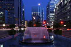 Toronto's Evening  ! (Ming chai) Tags: toronto fountains