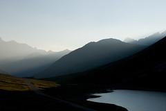 Adelr_20070729_037-Edit (reneadelerhof) Tags: italy mountain lake lago sunbeam aosta granparadiso nivolet