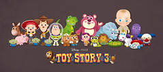 Toy Story 3 (Jerrod Maruyama) Tags: dog baby jessie buzz big pod mr head chibi woody disney potato pixar kawaii peas bullseye slinky dolly trixie 2010 june18 lotso jerrodmaruyama pricklepants cutetoystory3