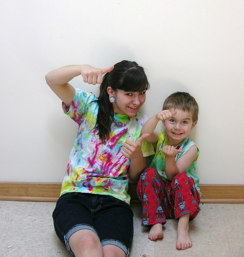 Thumbs Up for Tie Dye!!!