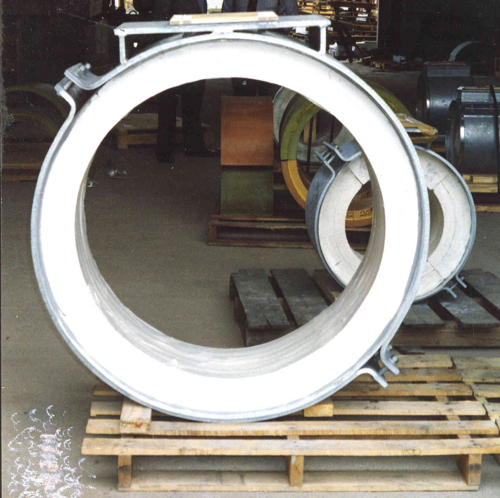Insulated Pipe Shoes for Hot Applications