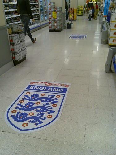 England in Tesco