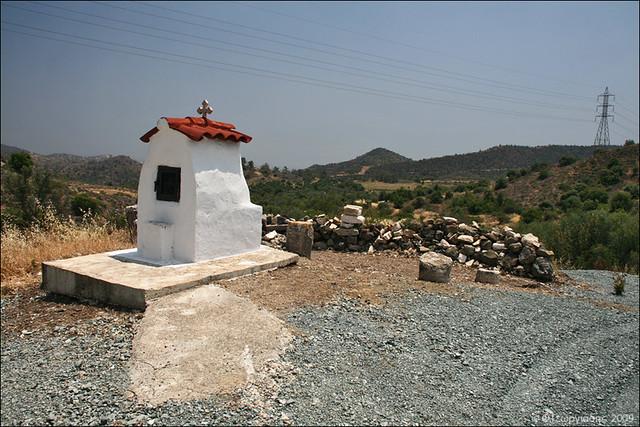Agia Mavra icon house / προσκυνητάρι Αγίας Μαύρας