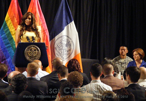 Wendy Williams MCs PRIDE Ceremony @ City Hall