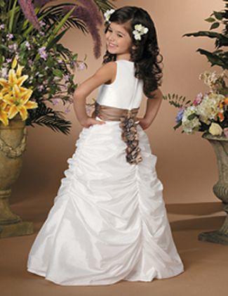 daminhas de casamento vestidos