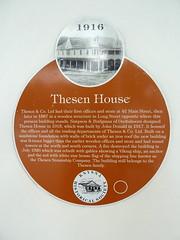Photo of John Donald orange plaque