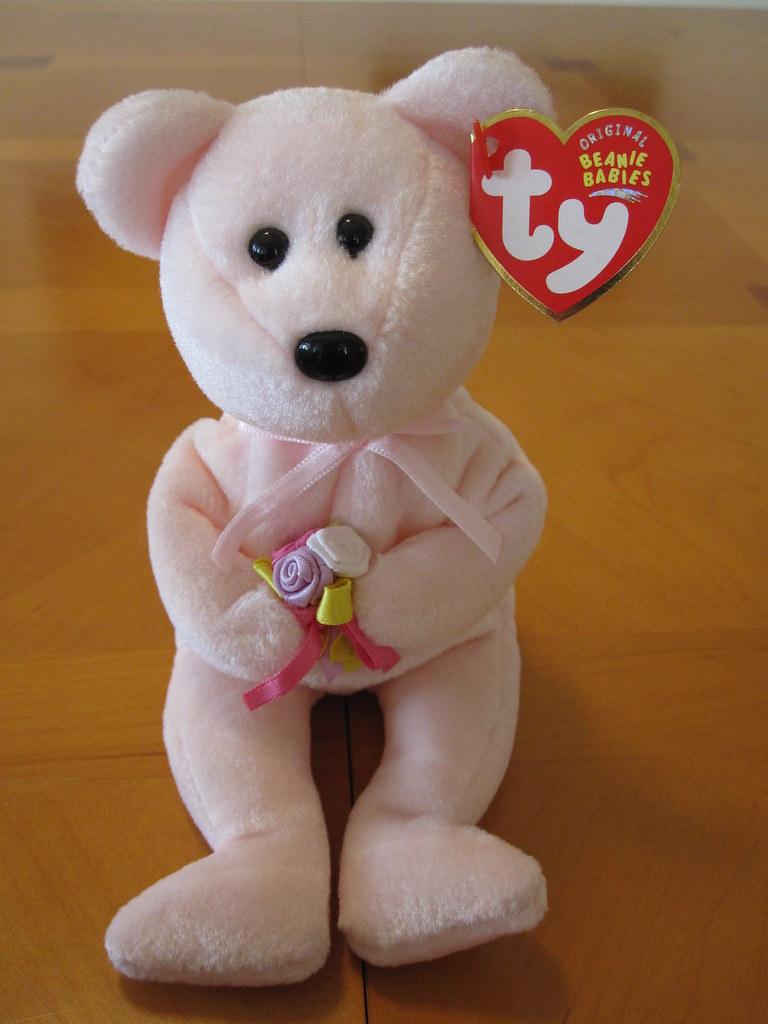Ty Dear the Bear Beanie Baby (jessicagreen0202) Tags  bear baby cute animal  toy 9636937cdc0a