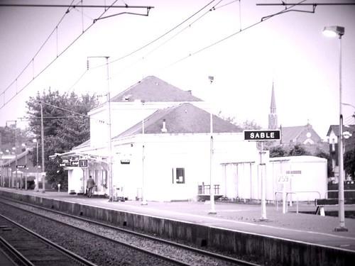Sablé sur Sarthe - la gare