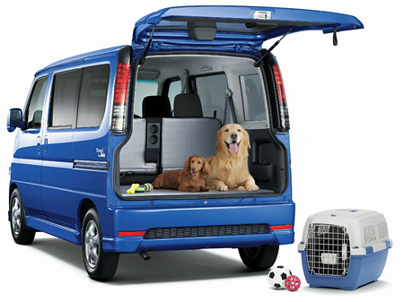 Honda Vamos Travel Dog