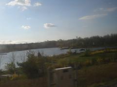 My Commute - Lake Artemesia (taoboy49) Tags: metro maryland commute greenline dirtywindow collegepark lakeartemesia berwynheights