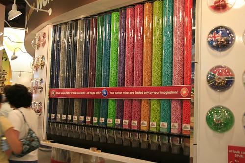 M&M's boutique pour les grans enfants