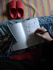 A desenhar