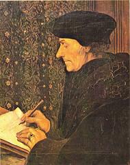 Erasmus, een bekende Nederlandse humanist