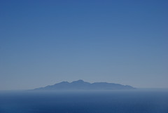 Atlantis (Markus Sticker) Tags: blue sea colour water landscape island see wasser colours himmel insel santorini greece blau griechenland landschaft thira