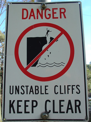 Danger: Unstable Cliffs