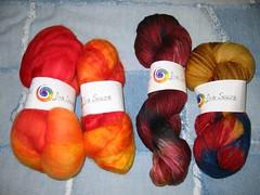 Lisa Souza yarn and fiber