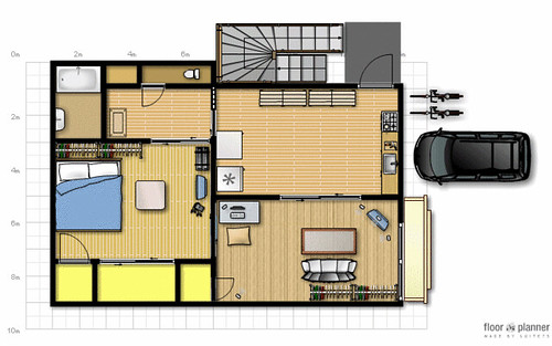 簡単に家(住宅)の間取図が作れるオンラインソフト