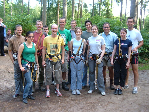 Group Photo at Go Ape