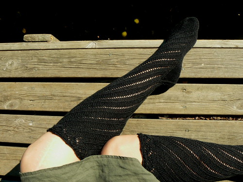 spiral boot socks