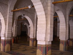 Inside Sousse Mosque (clareybella) Tags: tunisia mosque sousse