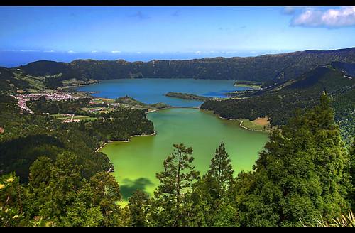The Blue Lake and The Green Lake