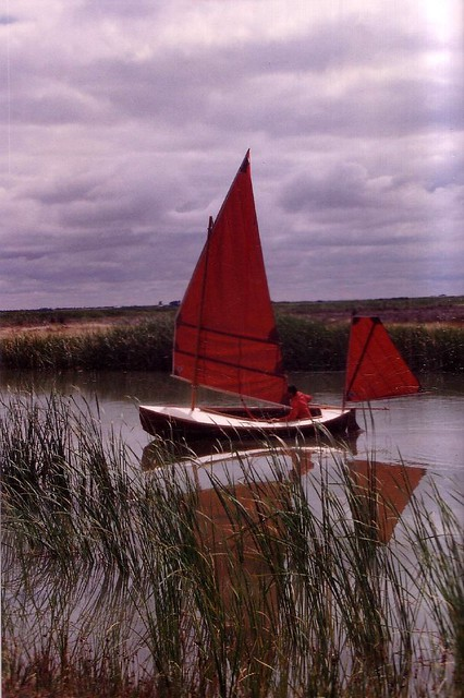 Ethel canoe yawl by George Holmes 1880s