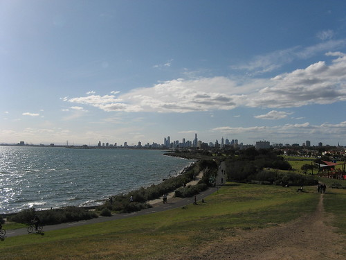 Melbourne across the bay
