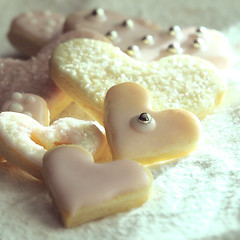 my heart is yours (anniedaisybaby) Tags: pink friends love cookies way dessert baking heart lol pastel noway icing heartcookies stvalentinesday bemine heartsdesire allyouneedislove pinkicing lemoncookies itsnotaboutyou blueribbonphotograpy whatagain myheartisyours anniedaisybaby seasonsmagic waysoftaste february142009 notextureagain