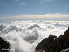 Niente di pi alto! (MARIO.CUS) Tags: panorama mountain clouds montagne high nuvole nubes alta montaa nuages alto montagna montain haute marmarole antelao dolomini