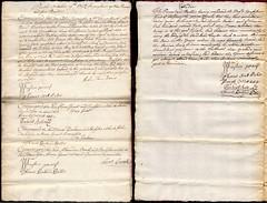 Sentence for body snatching, 1718 (P&KC Archive) Tags: grave scotland surgery crime autograph perth archives burial medicine punishment ecsochistory resurrectionists