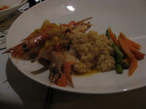 Vanilla Poached Shrimp