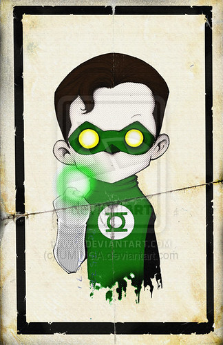 Green Lantern por Christopher Uminga