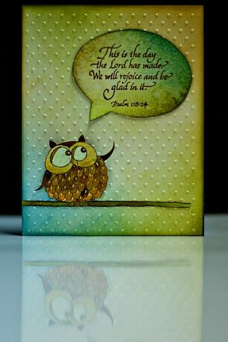 Mr. Owl's Birthday Greeting