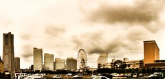 Minatomirai (Satoshi H (a.k.a ARCH)) Tags: autostitch camerabag 2010 iphone prohdr iphoneography iphone3gs