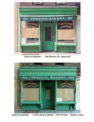 Vesuvio Bakery NY - Scale model and real structure comparison by Randy Hage
