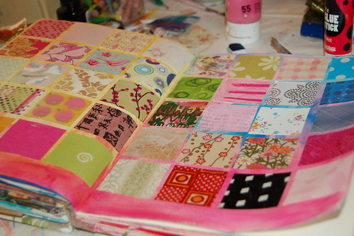 Grid of Pretty Papers